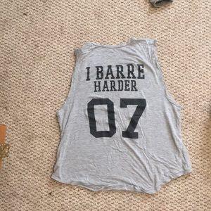 Barre Socks tank.